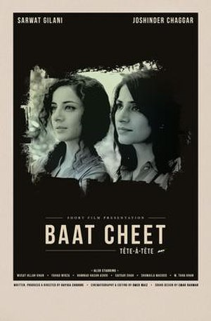Baat Cheet - Official poster for film at 68th Cannes Film Festival