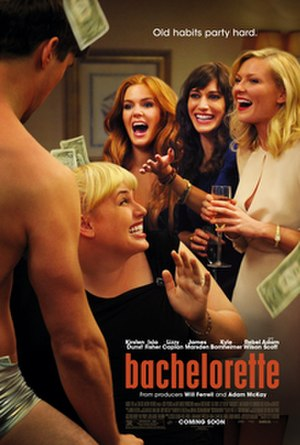 Bachelorette (film) - Promotional poster