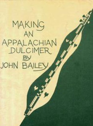 John Bailey (luthier) - Image: Bailey Dulcimer Small CLEANED
