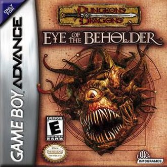 Eye of the Beholder (video game) - Image: Beholder GBA