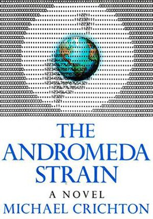 The Andromeda Strain - First edition cover
