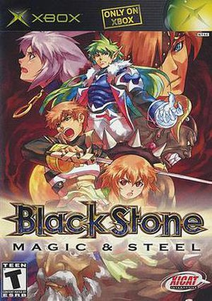 Black Stone: Magic & Steel - North American cover art