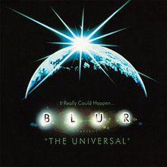 The Universal - Image: Blur The Universal front single cover