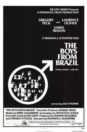 The Boys from Brazil (film) - Theatrical release poster