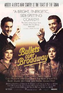 <i>Bullets over Broadway</i> 1994 film by Woody Allen