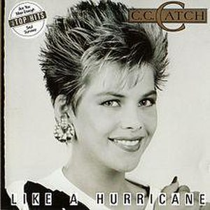Like a Hurricane (album) - Image: CC Catch Like a Hurricane