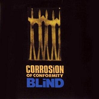 Blind (Corrosion of Conformity album) - Image: COC Blind