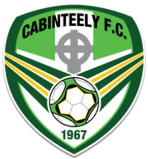 Cabinteely F.C. - Image: Cabinteely FC crest 2015