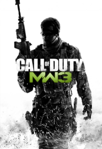 Call of Duty: Modern Warfare 3 - Cover art used for all territories
