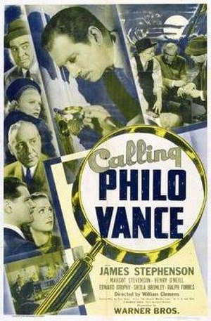 Calling Philo Vance - theatrical poster