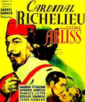 Cardinal Richelieu (film) - Image: Cardinal Richelieu Film Poster