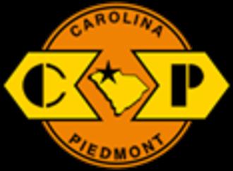 Carolina Piedmont Railroad - Image: Carolina Piedmont Railroad logo