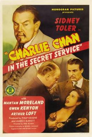 Charlie Chan in the Secret Service - Image: Charlie Chan in the Secret Service Film Poster