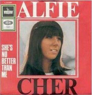 Alfie (song) - Image: Cher alfie