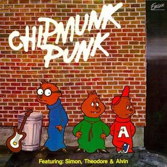 Chipmunk Punk - Image: Chipmunk Punk Cover