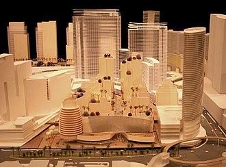 CityCenter - Image: City center model