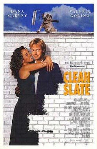 Clean Slate (1994 film) - Theatrical release poster