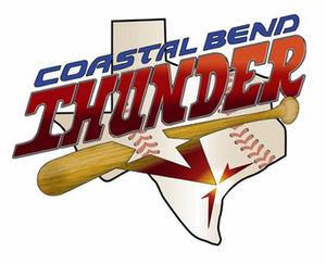Texas Thunder (baseball) - Former logo, while in Robstown, Texas