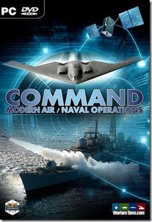 Command: Modern Air Naval Operations - The Command box cover.