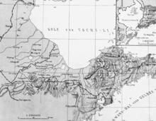 A concessão da Baía de Kiautschou estava localizada no porto natural de Tsingtao, na costa sul da Península de Shandong