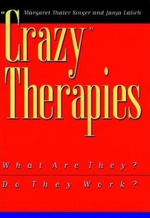 Crazy Therapies - Cover of the first edition