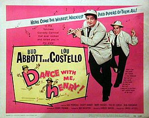 Dance with Me, Henry - Theatrical release poster