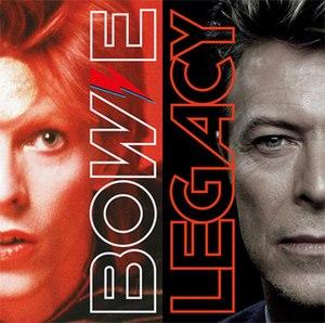 Bowie Legacy - Image: David Bowie Bowie Legacy Album Cover