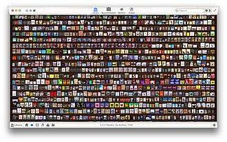 Delicious Library - Image: Deliciouslibrary 3screenshot