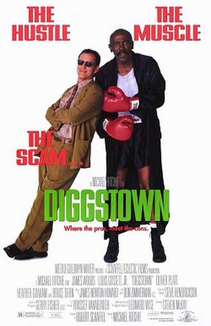 Diggstown - Theatrical release poster
