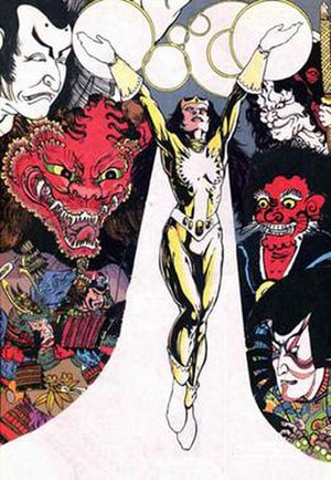 Doctor Light (Kimiyo Hoshi) - Doctor Light's second costume, artist Phil Jimenez