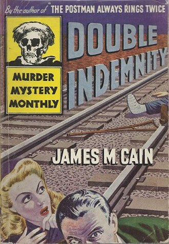 Double Indemnity (novel) - Cover of the first separate edition (Avon Books)