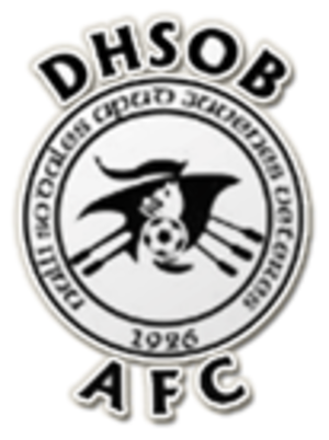 Douglas High School Old Boys A.F.C. - Image: Douglas High School Old Boys A.F.C. logo