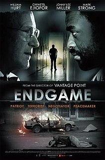 <i>Endgame</i> (2009 film) 2009 British film directed by Pete Travis