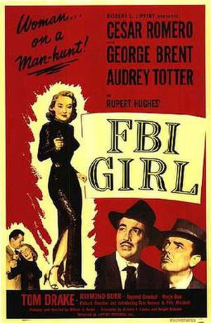 FBI Girl - Theatrical release poster