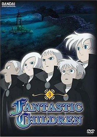 Fantastic Children - Cover art of the third volume of the DVD compilation of Fantastic Children by Bandai Entertainment