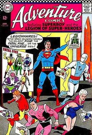 Fatal Five - Image: Fatal Five Adventure Comics 352
