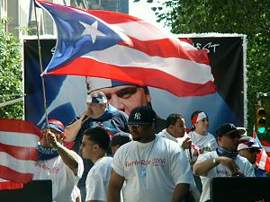 Puerto Rican Day Parade - Frankie Cutlass at the Puerto Rican Day Parade 2006
