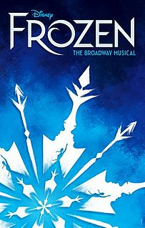 <i>Frozen</i> (musical) musical based off of the 2013 movie