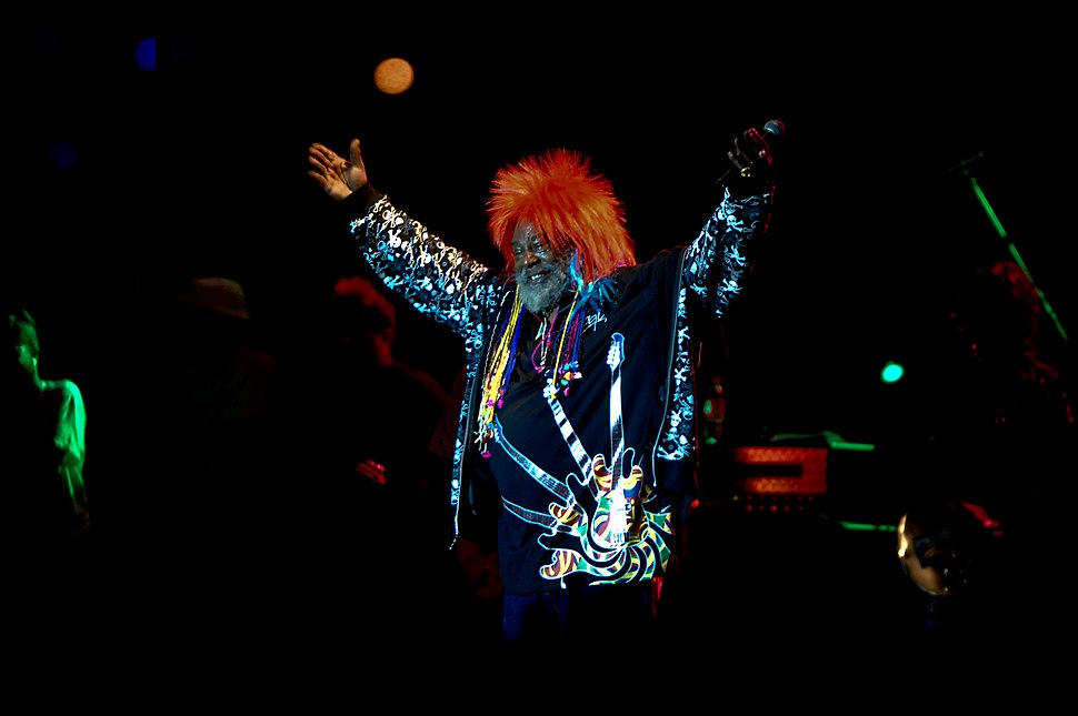 George Clinton %26 Parliament Funkadelic performing in Waterfront Park, Louisville, Kentucky on July 4th, 2008