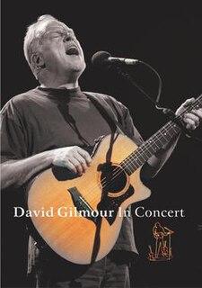 <i>David Gilmour in Concert</i> 2002 David Gilmour solo concert DVD
