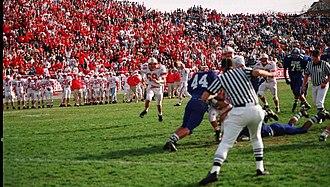 Greenway Avenue Stadium - Image: Greenwayave homecoming 2 1994