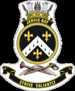HMAS Jervis Bay (GT 203) - Ship's crest