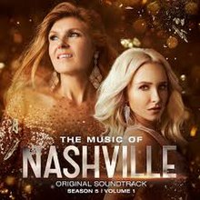 Hayden Panettiere and Connie Britton posing for Nashville Season 5 Vol 1 CD Cover.jpg