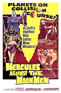 <i>Hercules Against the Moon Men</i> 1964 film by Giacomo Gentilomo