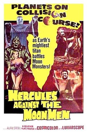 Hercules Against the Moon Men - Promotional film poster