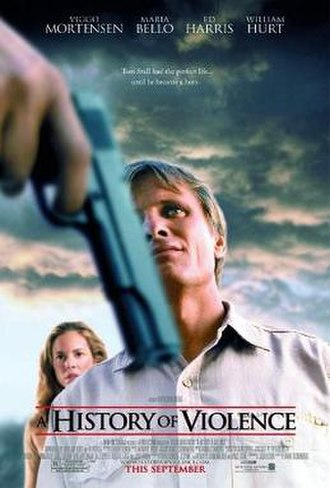A History of Violence - Theatrical release poster
