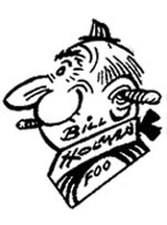 Bill Holman (cartoonist) - Image: Holmanselfportrait