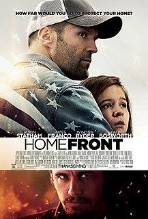 <i>Homefront</i> (film) 2013 film by Gary Fleder