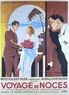 <i>Honeymoon Trip</i> 1932 Austrian-French comedy film