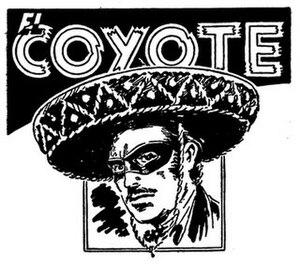 El Coyote (character) - El Coyote (from Ediciones Cliper) illustrated by Francisco Batet, 1947